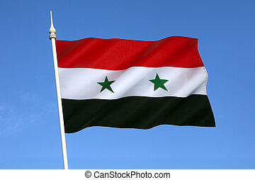 Flag of Syria - As a result of the ongoing Syrian civil war,...