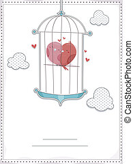 Bird Cage Invitation