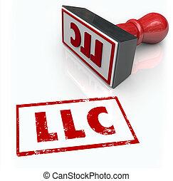 LLC, limitado, responsabilidad, corporación,...