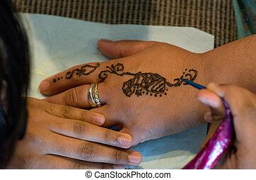 Earth Henna/Mehndi Body Painting - AUCKLAND,NZ - DEC...