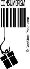 Consumerism sign - Consumerism vector sign