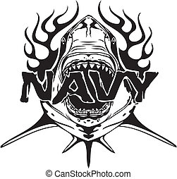 NAVY Military Design - Vector illustration - NAVY Military...