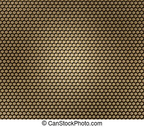 Grid Metal Background