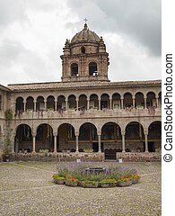 Santo Domingo Church, Cusco, Peru. - Church of Santo...