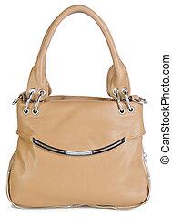 woman's handbag on a background - woman's handbag on the...