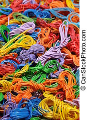 Copper cable scrap recycling
