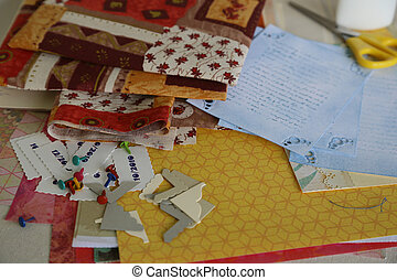 Scrapbooking supplies and accessories