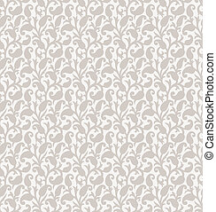 Paisley seamless background for invitation card