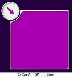 box for any text with purple pointer