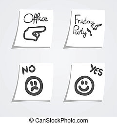 Tags messages - Creative design of tags messages