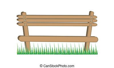 wooden chair illustration
