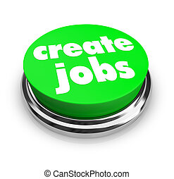 Create Jobs Button - A green button with the words Create...