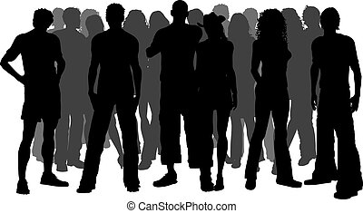 Crowd Clipart and Stock Illustrations. 49,421 Crowd vector EPS ...