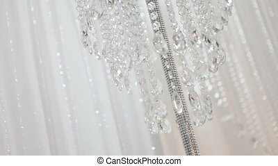 Wedding crystal decorations