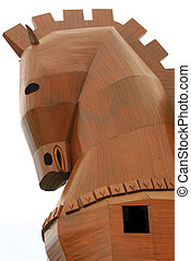 Trojan Horse of Troy, Turkey