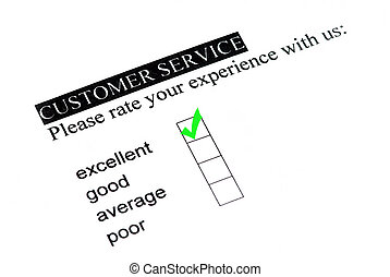 Excellent experience on customer service form.