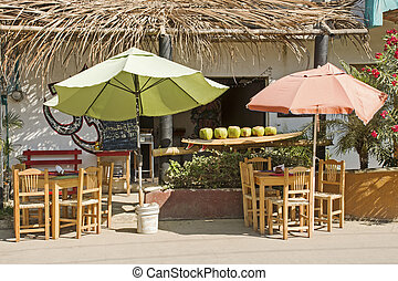 Mexican street fruit bar - Mexican fruit bar in San Pancho,...