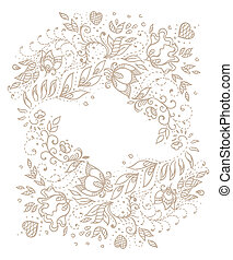 Vintage backgroung in vector.