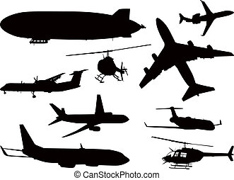 Aircraft Silhouette Collection