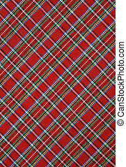 tartán, tela, Plano de fondo, rojo