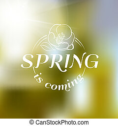 Spring is coming - cover.