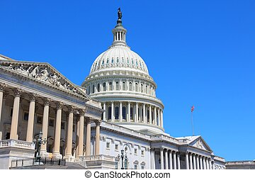 US Capitol - Washington DC, capital city of the United...