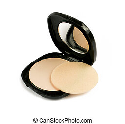 face powder with mirror - face powder with mirror