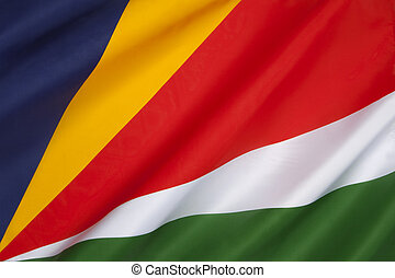 Flag of the Seychelles - The flag of the Seychelles was...