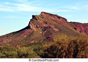 Montezumas Head - A mountain in southwestern Arizona known...