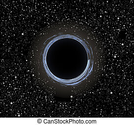 Black hole vector