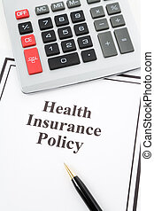 Health Insurance Policy - Document of Health Insurance...