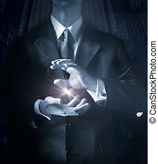 Business Ideas - Corporate Illustration representing Ideas...
