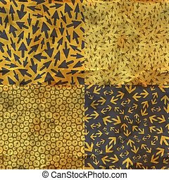 Arrows Seamless pattern - Arrows Seamless abstract...