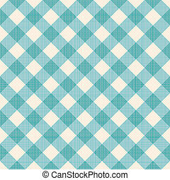 Seamless checked background. Eps 10 vector illustration