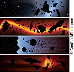 Asteroid Banners