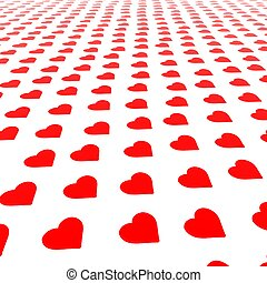 My Valentine Background - A background of a St Valentines...