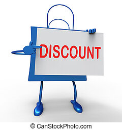 Discount Bag Shows Markdown Products and Bargains - Discount...