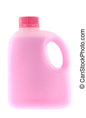 Disinfectant floor cleaner - A bottle of liquid to clean...
