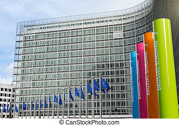 Brussels, Belgium – February 24, 2014: Photo of European...