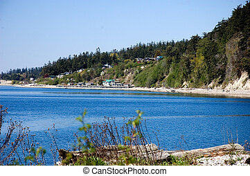 Community Beach Camano Island Washington - A beautiful day...