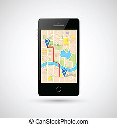 Navigation in Mobile Phone