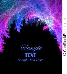 Bright Abstract Background with Copy Space
