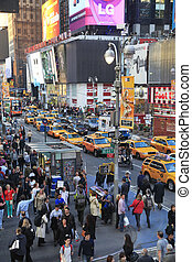 Times Square New York City - NEW YORK CITY, USA - MAY 16:...