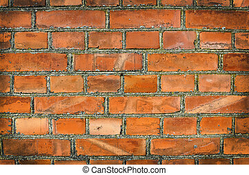 Old brickwall as background texture