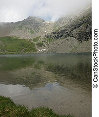 Lake Lunghin Engadin Switzerland