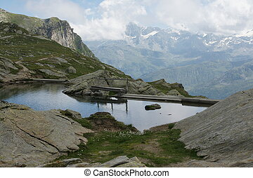 Lake Lunghin Engadin Switzerland