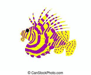 Lion fish - A big lion fish
