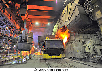 transportation on steel plant - transportation of liquid...