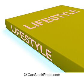 Lifestyle Book Shows Books About Life Choices