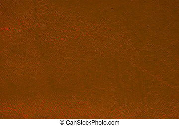 orange leather texture used for background with empty space.